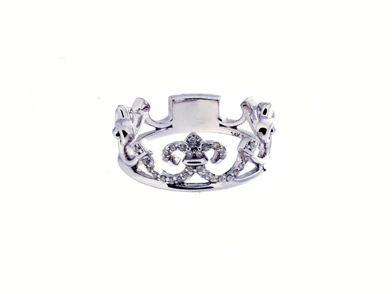 Crown Ring by Gabriel & Co